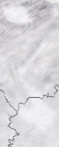 Спутниковый снимок  Рыбинского водохранилища и Белого озера 2021-02-11