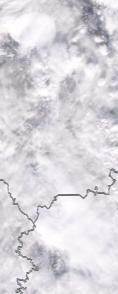 Спутниковый снимок  Рыбинского водохранилища и Белого озера 2021-02-16
