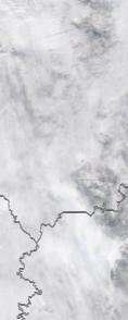 Спутниковый снимок  Рыбинского водохранилища и Белого озера 2021-02-24