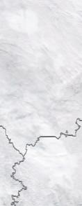 Спутниковый снимок  Рыбинского водохранилища и Белого озера 2021-02-25