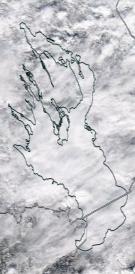 Спутниковый снимок Онежского озера 2021-04-01
