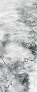 Спутниковый снимок  Рыбинского водохранилища и Белого озера 2021-07-29