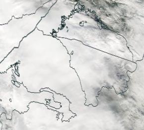 Спутниковый снимок Ладога, Финский залив 2021-09-12