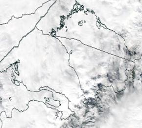 Спутниковый снимок Ладога, Финский залив 2021-09-13