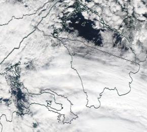 Спутниковый снимок Ладога, Финский залив 2021-09-15