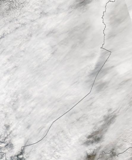 Спутниковый снимок Байкала 2021-10-12
