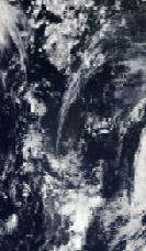 Los restos del huracán Gordon ya no serán noticia, salvo por su belleza. Foto NASA.